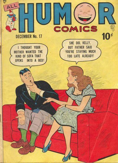 Cover for All Humor Comics (Quality Comics, 1946 series) #17