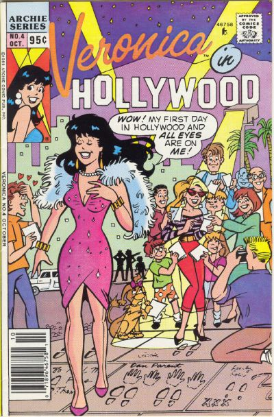 Cover for Veronica (Archie, 1989 series) #4