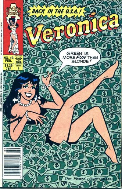 Cover for Veronica (Archie, 1989 series) #19
