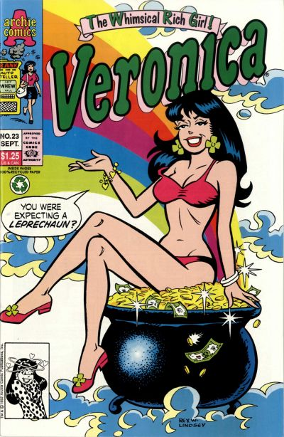 Cover for Veronica (Archie, 1989 series) #23