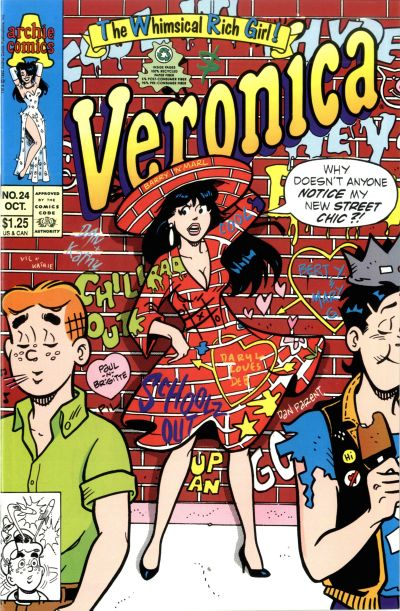Cover for Veronica (Archie, 1989 series) #24