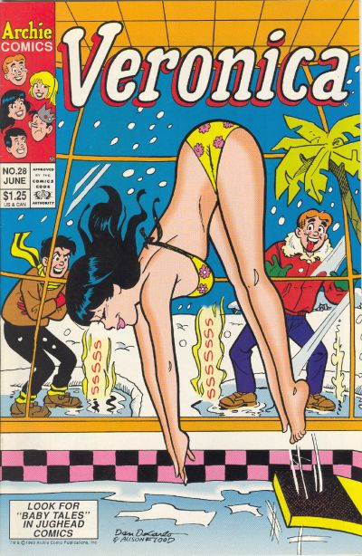 Cover for Veronica (Archie, 1989 series) #28