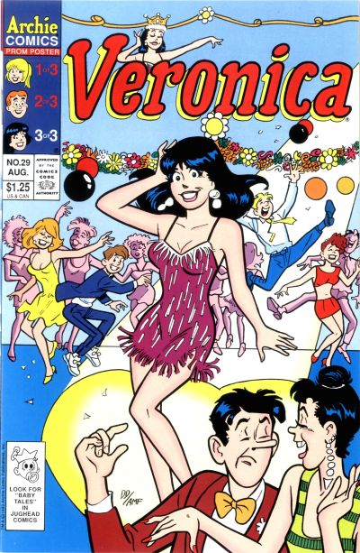 Cover for Veronica (Archie, 1989 series) #29