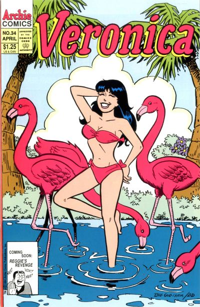 Cover for Veronica (Archie, 1989 series) #34