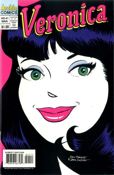 Cover for Veronica (Archie, 1989 series) #41