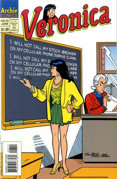 Cover for Veronica (Archie, 1989 series) #43