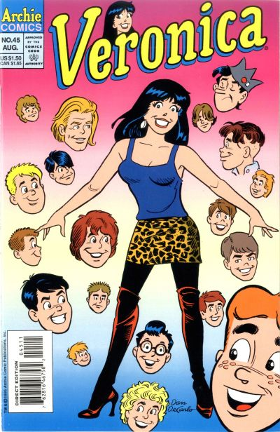 Cover for Veronica (Archie, 1989 series) #45