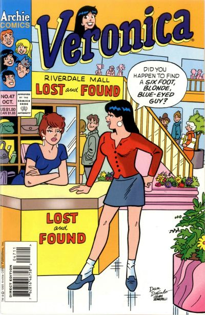 Cover for Veronica (Archie, 1989 series) #47