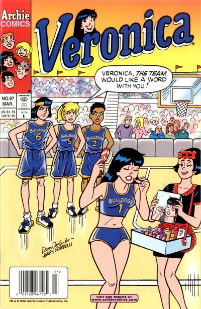 Cover for Veronica (Archie, 1989 series) #97