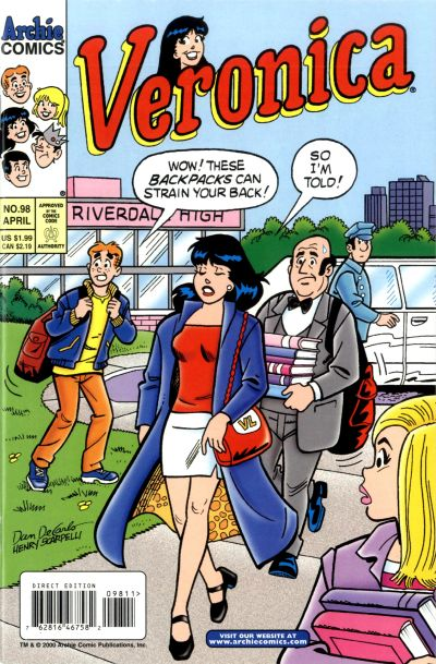 Cover for Veronica (Archie, 1989 series) #98