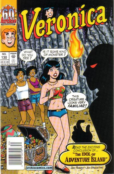 Cover for Veronica (Archie, 1989 series) #130