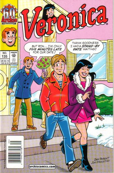 Cover for Veronica (Archie, 1989 series) #135