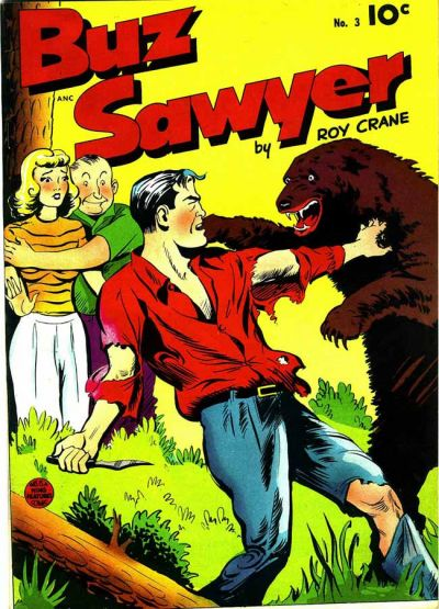 Cover for Buz Sawyer (Pines, 1948 series) #3