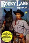 Cover for Rocky Lane Western (Fawcett, 1949 series) #2