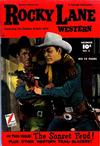 Cover for Rocky Lane Western (Fawcett, 1949 series) #8