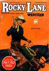 Cover for Rocky Lane Western (Fawcett, 1949 series) #11