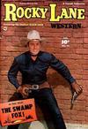 Cover for Rocky Lane Western (Fawcett, 1949 series) #28