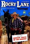 Cover for Rocky Lane Western (Fawcett, 1949 series) #35