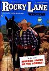 Cover for Rocky Lane Western (Fawcett, 1949 series) #35