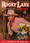 Cover for Rocky Lane Western (Fawcett, 1949 series) #38