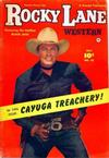 Cover for Rocky Lane Western (Fawcett, 1949 series) #42
