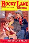 Cover for Rocky Lane Western (Fawcett, 1949 series) #43