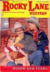 Cover for Rocky Lane Western (Fawcett, 1949 series) #43