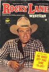 Cover for Rocky Lane Western (Fawcett, 1949 series) #45