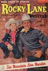 Cover for Rocky Lane Western (Fawcett, 1949 series) #52