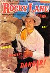 Cover for Rocky Lane Western (Fawcett, 1949 series) #54