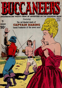 Cover Thumbnail for Buccaneers (Quality Comics, 1950 series) #19