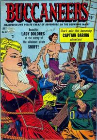 Cover Thumbnail for Buccaneers (Quality Comics, 1950 series) #22