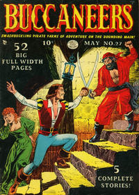 Cover Thumbnail for Buccaneers (Quality Comics, 1950 series) #27