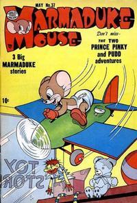 Cover Thumbnail for Marmaduke Mouse (Quality Comics, 1946 series) #37
