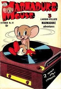 Cover Thumbnail for Marmaduke Mouse (Quality Comics, 1946 series) #41