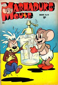 Cover Thumbnail for Marmaduke Mouse (Quality Comics, 1946 series) #45