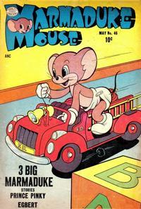 Cover Thumbnail for Marmaduke Mouse (Quality Comics, 1946 series) #46