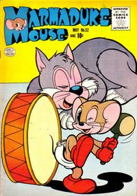 Cover Thumbnail for Marmaduke Mouse (Quality Comics, 1946 series) #52