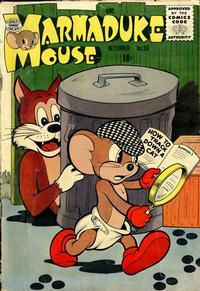 Cover Thumbnail for Marmaduke Mouse (Quality Comics, 1946 series) #56