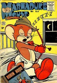 Cover Thumbnail for Marmaduke Mouse (Quality Comics, 1946 series) #61