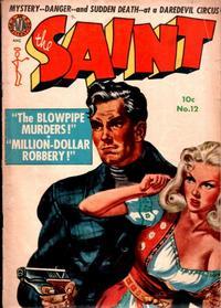 Cover Thumbnail for The Saint (Avon, 1947 series) #12