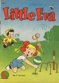Cover Thumbnail for Little Eva (St. John, 1952 series) #5