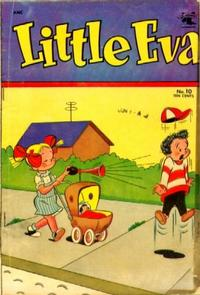 Cover Thumbnail for Little Eva (St. John, 1952 series) #10