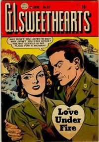 Cover Thumbnail for G.I. Sweethearts (Quality Comics, 1953 series) #32