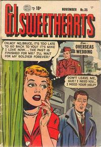 Cover Thumbnail for G.I. Sweethearts (Quality Comics, 1953 series) #35