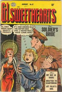 Cover Thumbnail for G.I. Sweethearts (Quality Comics, 1953 series) #37