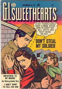 Cover Thumbnail for G.I. Sweethearts (Quality Comics, 1953 series) #42