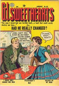 Cover Thumbnail for G.I. Sweethearts (Quality Comics, 1953 series) #43
