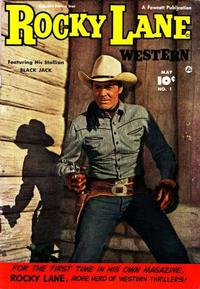 Cover Thumbnail for Rocky Lane Western (Fawcett, 1949 series) #1