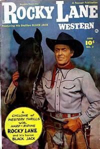 Cover Thumbnail for Rocky Lane Western (Fawcett, 1949 series) #2